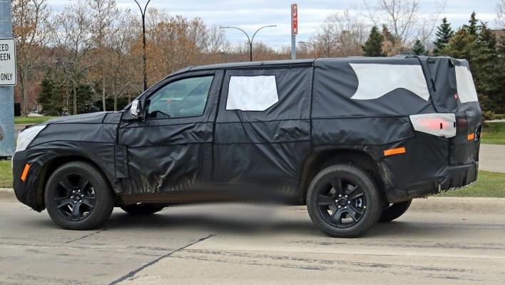 2021 Jeep® Wagoneer Prototype. (SpiedBilde).