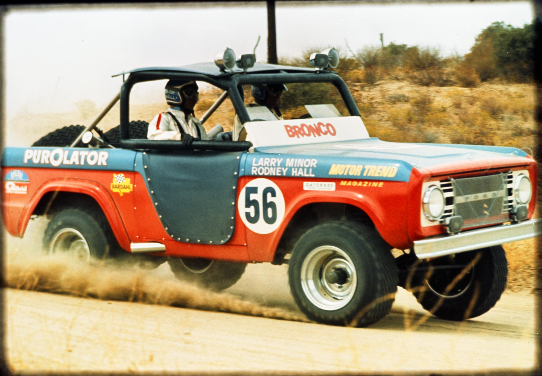 1969 Ford Bronco NORRA Baja 1000 Larry Minor Rod Hall CN5877-014