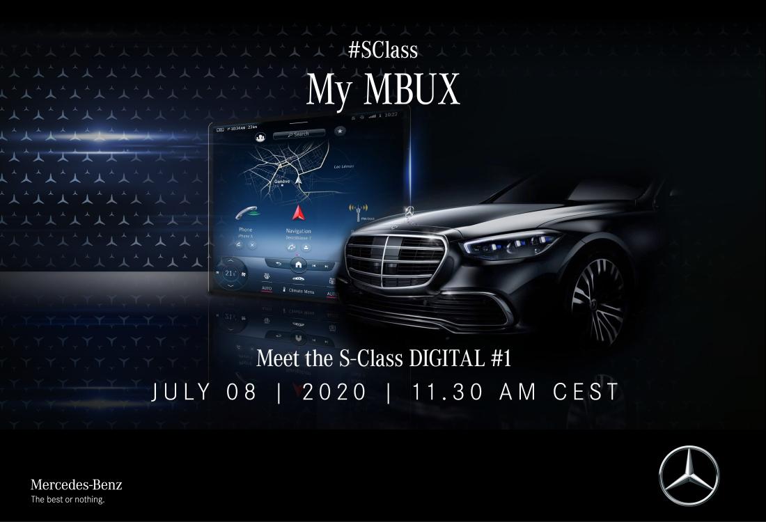 Mercedes-Benz startet Kommunikation zur neuen S-Klasse mit digitalen Specials auf Mercedes me media Mercedes-Benz launches the new S-Class communication with digital specials on Mercedes me media