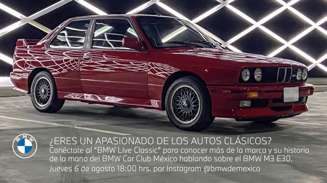 Invitación Virtual_BMW Live Classic