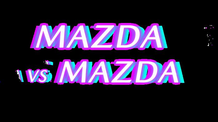 LOGO MAZDA VS MAZDA