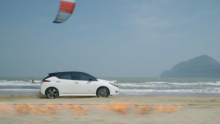 Proven power and torque of the Nissan LEAF allowed it to beat na