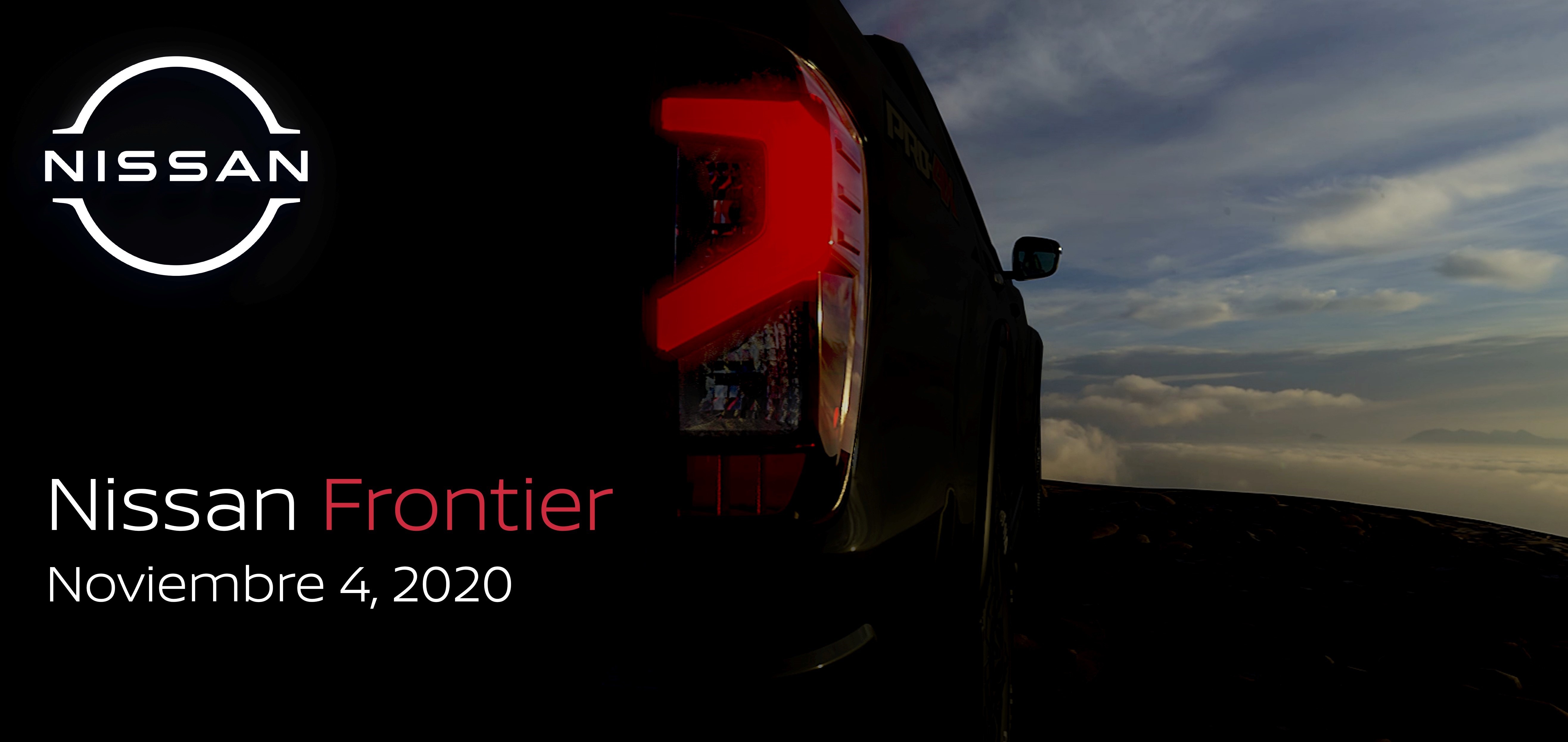 Nissan Frontier, muy pronto.