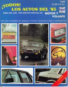 1er libro del año 1985