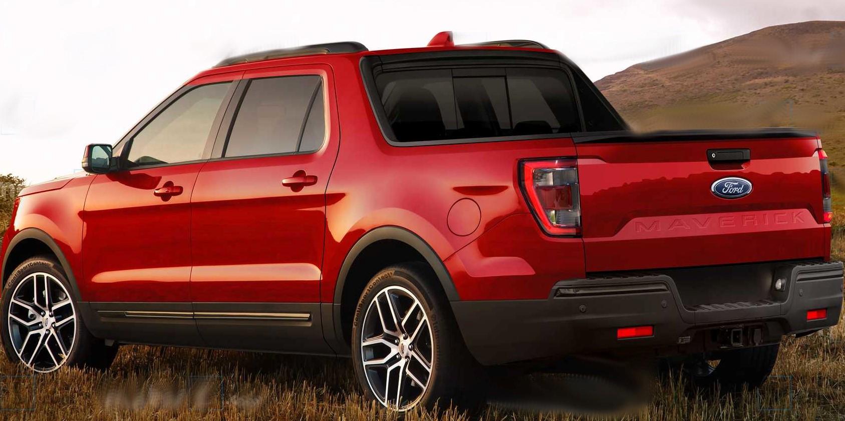 2022-ford-maverick-pickup-render roja