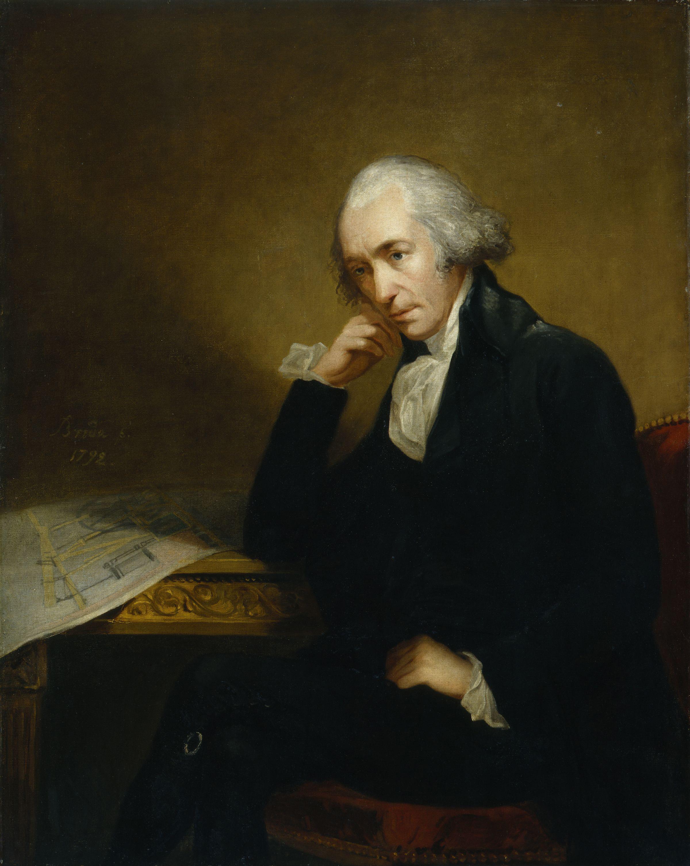 186a,James Watt,by Carl Frederik von Breda
