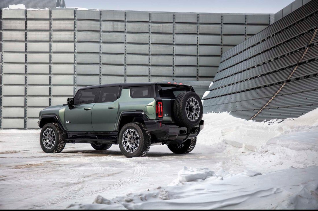 The GMC HUMMER EV SUV completes the HUMMER EV family and feature