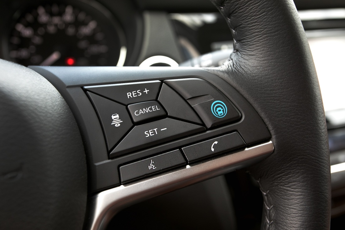 Nissan ProPILOT Assist™ technology reduces the hassle of stop-
