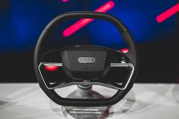 Steering wheel 2021 in the Audi Q4 e-tron