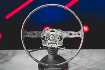 Steering wheel skeleton consisting of die-cast magnesium