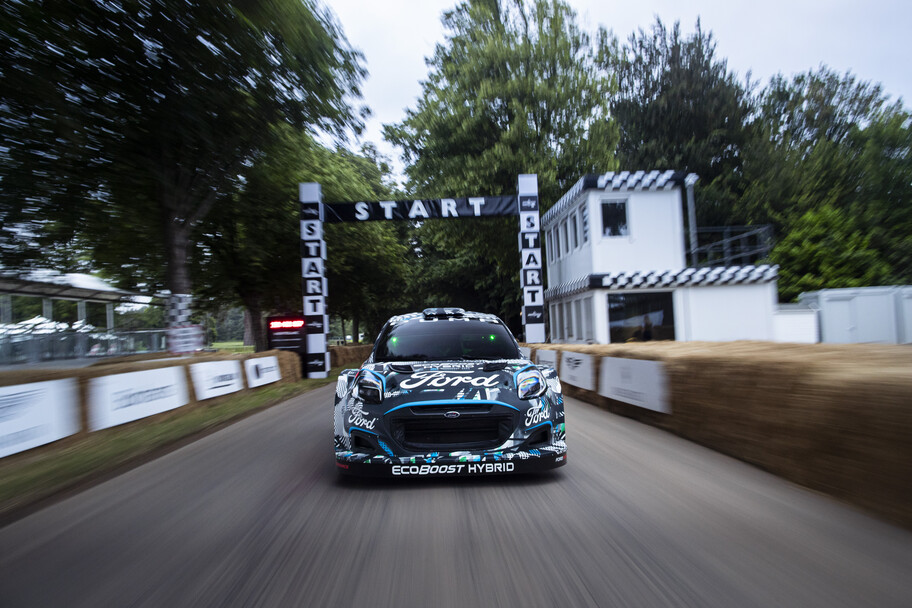 Ford and M-Sport Reveal New Puma Rally1 WRC Prototype; Electrify